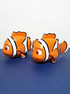 Lot of2▪Pixar Disney Thinkway Toys Finding Nemo Interactive Talks & Moves▪WORKS