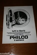 AQ16=1972=PHILCO LAVATRICHE WASHING MACHINE=PUBBLICITA'=ADVERTISING=WERBUNG=