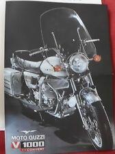 MOTO GUZZI V 1000 i convert prospetto 1976 61ps 2 zylind