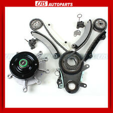 Timing Chain Kit Water Pump For 04-10 DODGE RAM1500 JEEP LIBERTY 3.7L VIN K