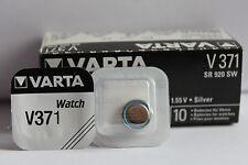 10 x Batterien original Blister  Varta  V371  V 371  371  SR 920 SW bis 2019