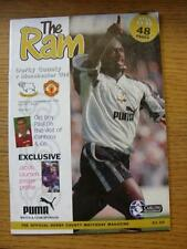 04/09/1996 Derby County v Manchester United  (Faint Marks)