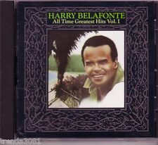 Harry Belafonte All Time Greatest hits Volume 1 CD Classic 70s Pop Anthology