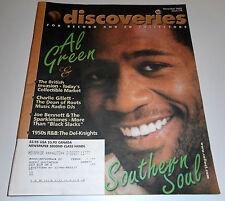 Discoveries Music Magazine #174 -11/02- Al Green, Charlie Gillett, Joe Bennett