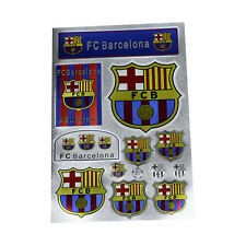 Barcelona FC Club Messi Waterproof Stickers Paster Reflective Stickers A4