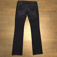 AG Adriano Goldschmied The Ballad Slim Boot Stretch Denim Jeans Woman's Size 28R