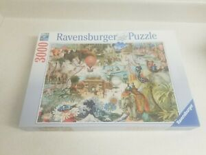 Ravensburger Puzzle 3000 Piece Oceania Jigsaw Puzzle