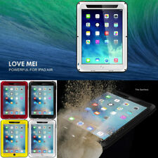 LOVEMEI For iPad  DustProof Waterproof Shockproof Metal Aluminum Case Cover New