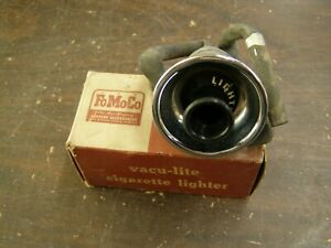 NOS OEM Ford Accessory 1951 Vac-u-lite Cigarette Lighter