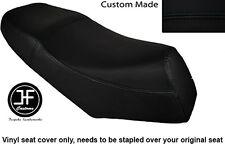 BLACK AUTOMOTIVE VINYL CUSTOM FITS LEXMOTO GLADIATOR 125 DUAL SEAT COVER ONLY