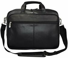 Kenneth Cole Reaction The I Rest My Case Leather Top Zipper Laptop Computer Bag