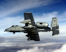 New 8x10 U.S. Air Force Photo: Fully Loaded A-10 Thunderbolt II Fighter Jet