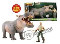 Jumanji MASSIVE HIPPO Lanard Hippopotamus Animal Action Figure Planet NEW 2019