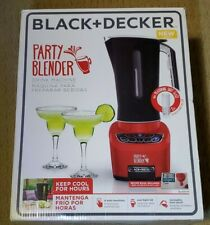 New BLACK + DECKER Party Blender BL4001R XL Blast 72 Oz Drink Machine Red 650 W