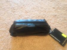 BNWT Mens/unisex Small Leather Bag/travel Shave Bag Black Rt $90 HSA Brand