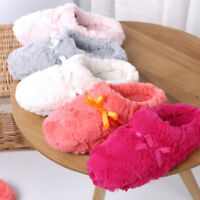 Women Winter Warm Soft Cotton Anti-slip Sandal Home Slipper Shoes Indoor NEW
