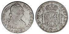 8 Silver Reales/Silver Charles Iv-Carlos IV Mexico 1802. VF / MBC Oportunidad.