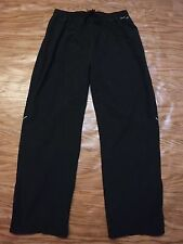 Reebok Black Color Athletic Polyester Lined Long Pant Men Xl *Excellent*