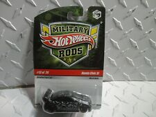 Hot Wheels Military Rods #13 Honda Civic Si HTF