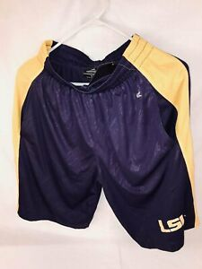 LSU Colosseum Basketball Shorts with Two Front Pockets Size:  Small