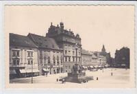 AK Plzen, Pilsen, Namesti s radnici, Rathaus 1935 Foto-AK