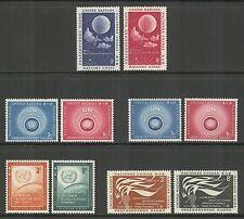 UN-New York # 49-58, 1957 Annual Set, Unused NH