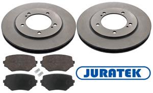 For Suzuki - Grand Vitara 1998-2005 Front 310mm Brake Discs and Pads Juratek