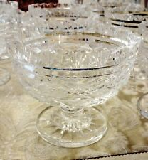 VINTAGE WATERFORD CRYSTAL PERIOD PIECE FOOTED BOWL  ~ IRELAND