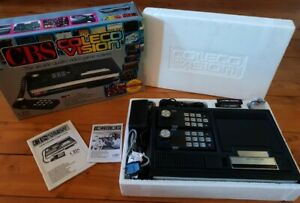 Colecovision Console CBS + Boite Boxed PAL 1st edition Tested + Donkey Kong NM