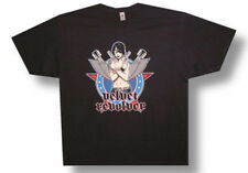 Velvet Revolver-Gun Girl with Wings-X-Large Black T-shirt