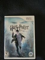 Wii Video game  - Harry Potter and the Deathly Hallows Part 1 - Teen games Hogwa