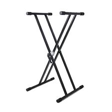 Pyle PKS40 Universal Keyboard Stand, Digital Piano DJ Table Mount Holder