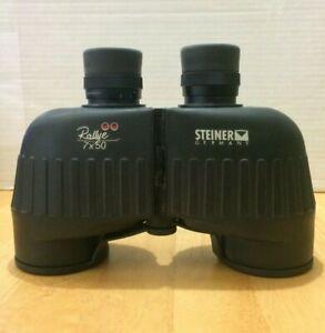 STEINER RALLYE 7 x 50 BINOCULARS, Made in Germany, Free Shipping, NEEDS REPAIR