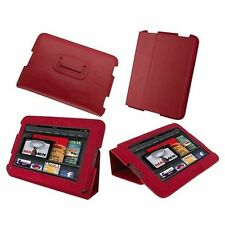 rooCASE Ultra-Slim Leather Folio Case for Amazon Kindle Fire 7""