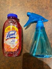 Lysol 10.75 Oz W/ bottle Mango & Hibiscus Makes 5 Gallons