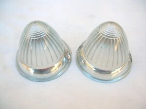 BMW ISETTA 300  ACRYLIC FRONT TURN SIGNAL LENS SET NEW !!!!!!