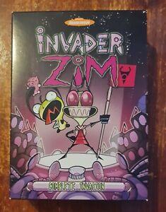 DVD Nickelodeon INVADER ZIM Complete Series Region 1