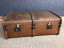 Vintage Antique Steamer Travel Trunk Case