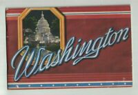 Washington DC of Today Booklet 1930s Capitol Monument White House