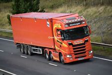 Truck Photos Irish Manfreight Scania R500 & Walking Floor LXZ 5769