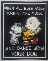 Peanuts ◇ Snoopy & Charlie Brown ♡ Turn it Up ♡ Dogs ♡  Magnet