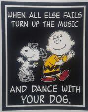 Peanuts Snoopy Charlie Brown ♡ Turn it Up ♡   Magnet.