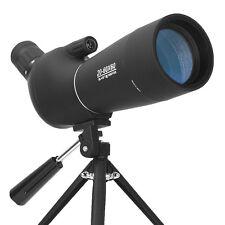 20-60X60 Spotting Scope BAK4 Prism Waterproof Zoom Telescope With Tripod Hunting