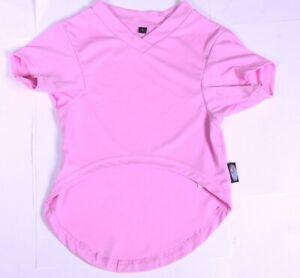 Lot of (10) DOG ZONE Jersey PINK Dog Puppy Pet Cat V Neck Short Sleeve T-Shirts