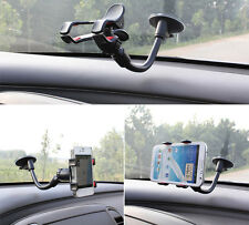 360°Car Holder Windshield Mount Bracket for Mobile Cell Phone GPS iPhone Samsung