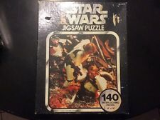 """VINTAGE 1977 KENNER STAR WARS  PUZZLE  """" TRAPPED IN TRASH COMPACTOR """"SERIES 2"""