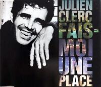 Julien Clerc Maxi CD Fais-Moi Une Place - France (EX/EX+)