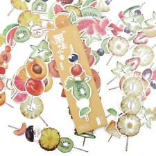 New 30pcs Fruit Style Paper Bookmark Book Marks Card Book Page Holder Gift