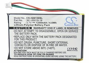 361-00019-16 GPS Battery for Garmin Nuvi 1300, 1350, 1350T, 1370, 1390 UPGRADE