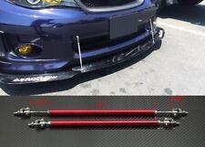 """Red 4""""-7"""" Struts Support Rod Bar for Toyota Scion Bumper Lip Diffuser Spoiler"""